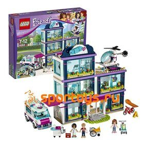 Lego Friends 41318 Конструктор Клиника Хартлейк-Сити