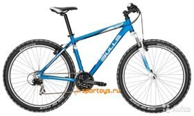 "Велосипед 17"" Bulls Pulsar 27.5Ø I-blue matt (neon orange/neon green all matt)"