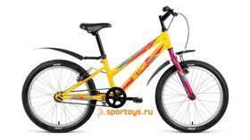 Велосипед FORWARD 24 ALTAIR MTB HT 1.0 LADY 6ск