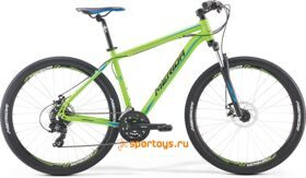 Велосипед Merida Big Seven 10MD Matt Green/Black/Blue/Black  бесплатная доставка РФ
