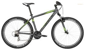 "Велосипед 17"" Bulls Pulsar 27.5Ø black matt (i-grey/neon green all matt)"