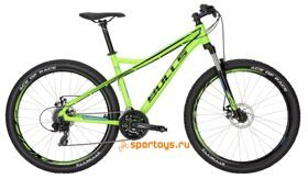 "Велосипед 17"" Bulls Sharptail 1 Disc 27.5Ø neon green (process blue/black)"