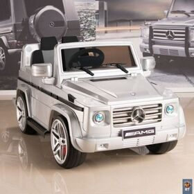 DMD-G55 Электромобиль Mercedes-Benz AMG NEW Version 12V R/C silver