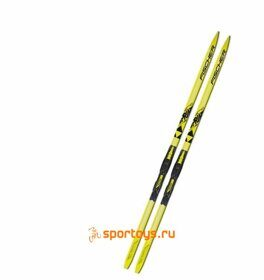 Лыжи Fischer SPRINT CROWN YELLOW JR N63317