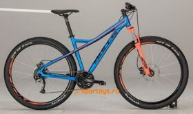 "Велосипед 17"" Bulls Sharptail 1 Disc 29Ø neon orange (blue)"