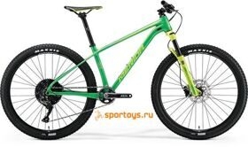 Велосипед Merida Big Seven Limited Green (Lite Green) 2018  бесплатная доставка