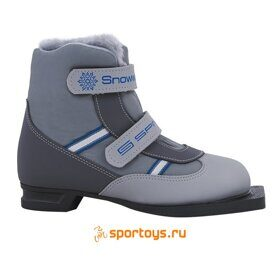 Ботинки лыжные 75 мм SPINE Kids Velcro
