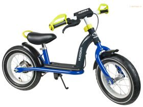 "HUDORA Laufrad Cruiser Boy Alu ""12"" Blue/Lemon, сине/лемонный"