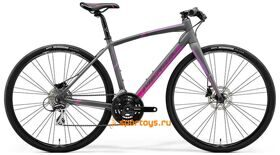 Велосипед Merida SPEEDER 100-Juliet Matt Grey (Pink/Purple) 2018