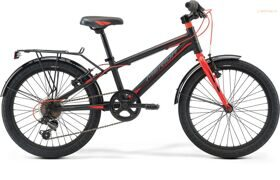 Велосипед Merida Dino J20 MattBlack/Red 2019