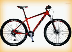 "Велосипед Scott 16"" Aspect 940 Red/Black 29Ø"