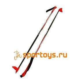 Палки STC  Sable XC Cross Country Red 100% стекловолокно