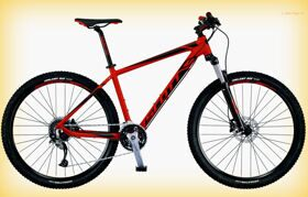 "Велосипед Scott 16"" Aspect 740 Red/Black 27.5Ø"