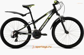 Велосипед Merida Matts J24 Marathon Black/Green/White Decal Бесплатная доставка РФ