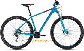 Велосипед CUBE AIM SL 27.5Ø (blue´n´red) 2018