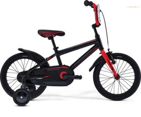 Велосипед Merida Dino J16 MattBlack/Red 2019