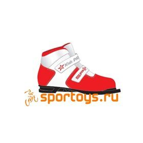 Ботинки 75 мм SPINE Kids Pro 399/9 RED 30р.