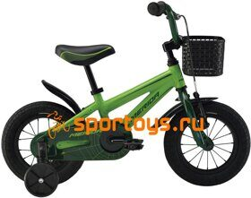 Велосипед Merida Spider J16 Green/DarkGreen 2019