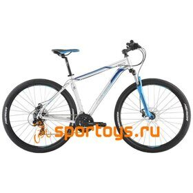 Велосипед Merida Big Nine 10-MD Silver/Blue 2019