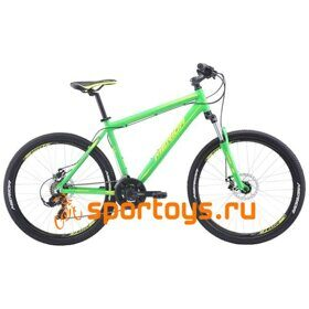 Велосипед Merida Matts 6.10-MD Green/LiteGreen 2019