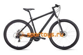 "Велосипед 29"" Forward Sporting 29 2.1 disc Черный 19-20 г"