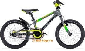 Велосипед CUBE KID 160 (grey´n´green´n´kiwi) 2018