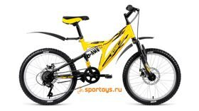 Велосипед FORWARD 20 ALTAIR MTB FS 2.0 DISC ДвухПодвес 6ск