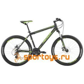 Велосипед Merida Matts 6.15-MD MattBlack/LiteGreen 2019