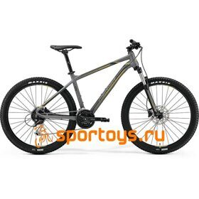 Велосипед Merida Big Seven 100 MattGrey/Yellow (DarkGrey) 2019