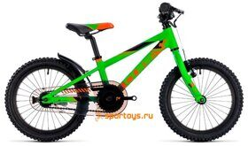 Велосипед CUBE KID 160 (flashgreen´n´orange) 2018