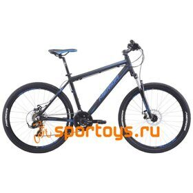 Велосипед Merida Matts 6.10-MD MattBlack/Blue 2019