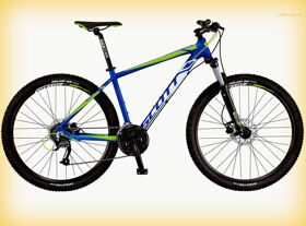 "Велосипед Scott 16"" Aspect 750 Blue/White/Green 27.5Ø"