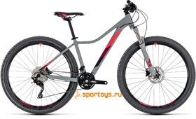 Велосипед CUBE ACCESS WS RACE 27.5Ø (grey'n'berry) 2018