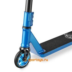 Самокат FOX BIG BOY 5.0 black / blue 2018