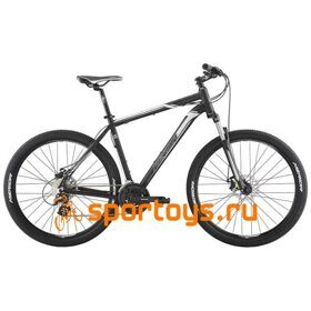 Велосипед Merida Big Seven 15-MD MattBlack/Silver 2019
