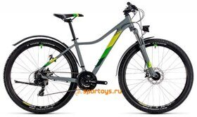 Велосипед CUBE ACCESS WS Allroad 27.5Ø (grey ́n ́green) 2018