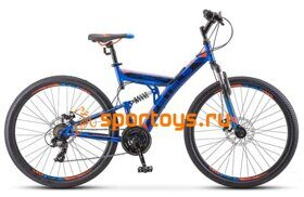 "Велосипед Stels Focus 27,5"" MD 21 sp V010 Синий (LU089832)"