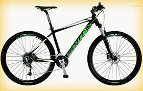 "Велосипед Scott 16"" Aspect 740 Black/Green/White 27.5Ø"