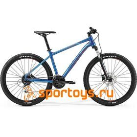 Велосипед Merida Big Seven 100 Glossy Blue (Red) 2019