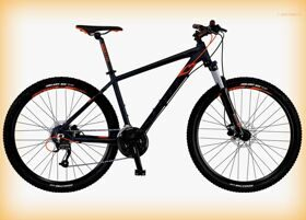 "Велосипед Scott 16"" Aspect 750 Anthracite/Black/Orange 27.5Ø"