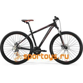 Велосипед Merida Big Nine 20-MD MattBlack/Silver/Red 2019