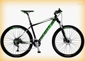 "Велосипед Scott 16"" Aspect 940 Black/Green/White 29Ø"