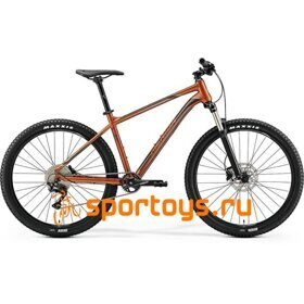 Велосипед Merida Big Seven 400 GlossyCopper/DarkBrown (Blue) 2019