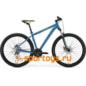 Велосипед Merida Big Seven 20-MD Blue/Blue/Green 2019