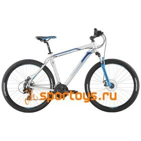 Велосипед Merida Big Seven 10-MD Silver/Blue 2019
