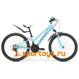 Велосипед Merida Matts J24 Girl Blue(Pink/Grey) 2019