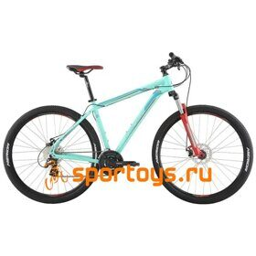 Велосипед Merida Big Nine 15-MD MattBlue/Blue/Red 2019