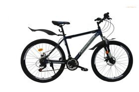 Велосипед 26 Nameless MTB J6000D, ALU, 21 ск. DISC синий/серый